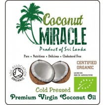 Coconut Miracle Organic Coconut Butter 300g