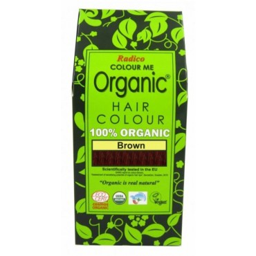 Colour Me Organic Brown Hair Colour