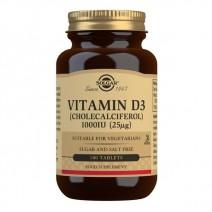 Solgar Vitamin D3 1000 IU (25 µg) 180 Tablets