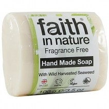 Faith In Nature Fragrance Free Soap 18 x 100g