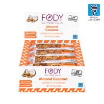 FODY Almond Coconut Bar 40g x 12
