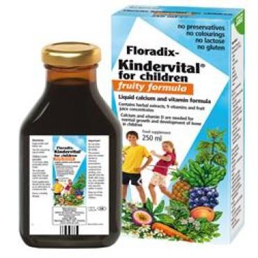 Floradix Kindervital Fruity Food Supplement 250ml
