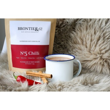 Brontie & Co Superfood Hot Chocolate No5 Chilli 200g