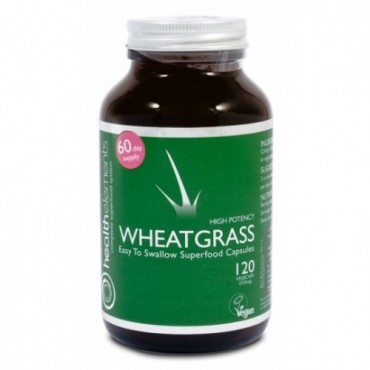 Health Elements Wheatgrass 120 Caps