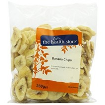 The Health Store Banana Chips 250g