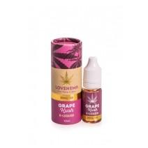Love Hemp Grape Krush E Liquid 300mg CBD 10ml