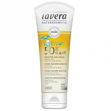 Lavera SPF 50 Kids Sun Cream 75ml x 4