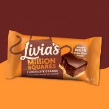 Livia's Kitchen Million Squares Chocolate Orange 12 x 60g