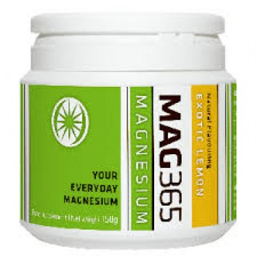 Mag 365 Everyday Magnesium Exotic Lemon 150g