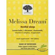 New Nordic Melissa Dream Restful Sleep 100 Capsules