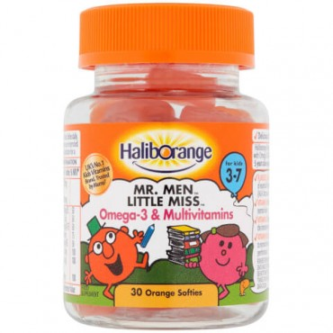 Haliborange Mr Clever Multivitamin & Omega 3 Softies 30s