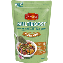 Lindwoods Organic Multiboost Hemp, Cashew & Almonds 6 x 200g