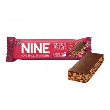NINE Cocoa Raspberry Seed Bar 20x40g