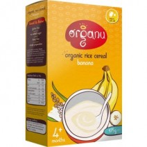 Organu Organic Rice Cereal with Banana 175g
