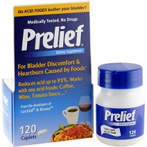 Prelief Dietary Supplement for Heartburn 120 Tablets