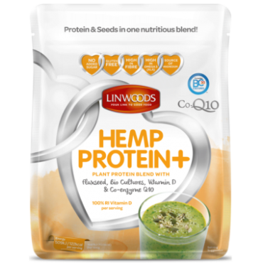 Linwoods Hemp Protein With Flax & COQ10 20g