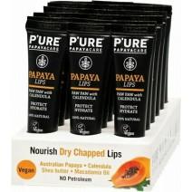 P'URE Papayacare LIPS 10g DISPLAY 18 Tubes