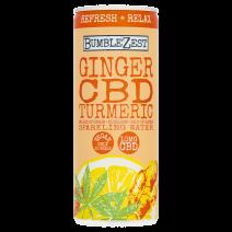 Bumble Zest Ginger CBD Drink 24 x 250ml