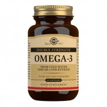 Solgar Double Strength Omega-3 60 Softgels