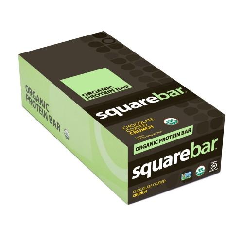 Squarebar Chocolate Coconut Organic Protein Bars G X