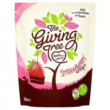 The Giving Tree Strawberry Crisps 38g