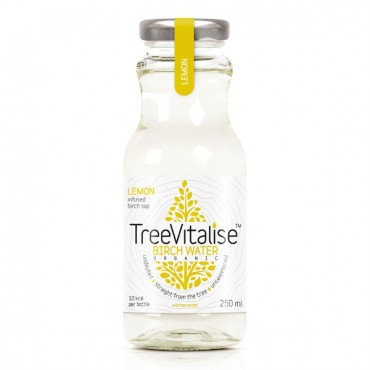 Tree Vitalise Organic Birch Water Lemon 250ml x 15
