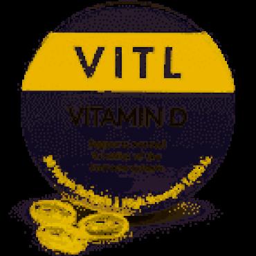 Vitl Vitamin D 30 Softgels 1000iu