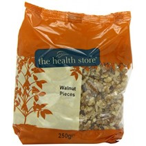 The Health Store Walnut Light Pieces 250g