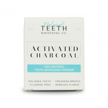 Natural Teeth Whitening Co Activated Charcoal 50g