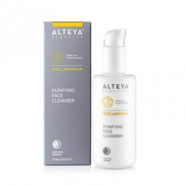 Alteya Organics Purifying Face Cleanser Rose Jasminium 150ml