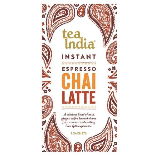 Tea India Espresso Chai Latte 8 Sachets