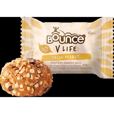 Bounce V-Life Cacao Peanut Protein Ball 40g