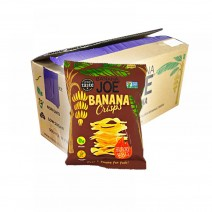 Banana Joe Banana Crisps Hickory BBQ 12 x 23g