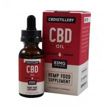 CBD Distillery CBD Oil 30ml 83mg Per Serving