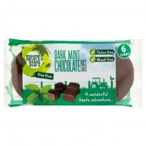 Nature's Store Dark Chocolate Mint Rice Cakes 100g