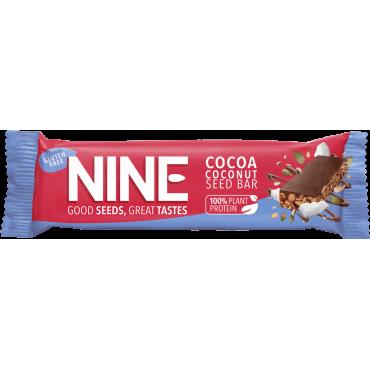 NINE Cocoa Coconut Seed Bar 20x40g
