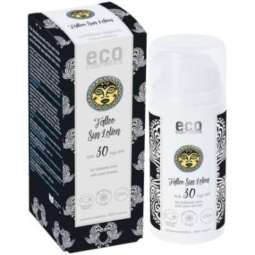 Eco Cosmetics Tattoo Sun Lotion SPF 30 100ml x 4
