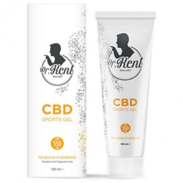 Dr. Kent CBD 100ml (550mg CBD) - SPORTS GEL