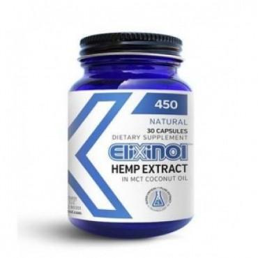 Elixinol Organic CBD 450 30 Caps