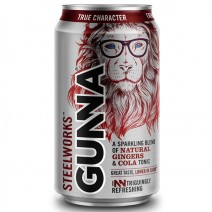 Gunna Steelworks Ginger Cola Tonic 330ml