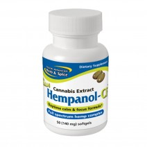 North American Herb & Spice Hempanol 50 Caps