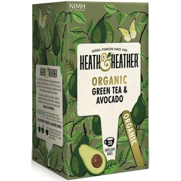 Heath & Heather Green Tea with Avocado 20 Bags