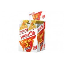 High 5 Caffeine Orange Energy Gel 40g x 20