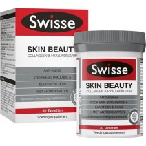 Swisse Ultiplus Skin Beauty Collagen & Hylauronic Acid 30 Tablets