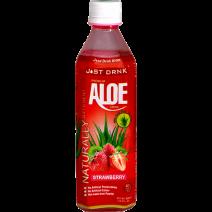 Just Drink Aloe Drink Strawberry 500ml