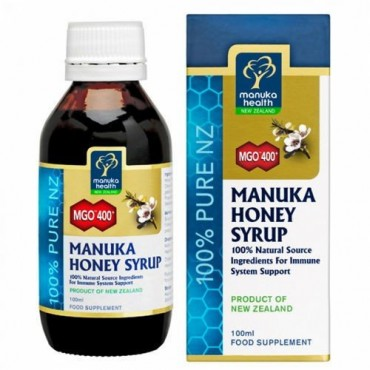Manuka Health MGO 400+ Manuka Honey Syrup - 100ml
