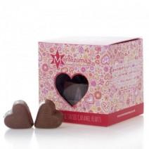 Montezumas Valentine Milk Chocolate Caramel Hearts 150g