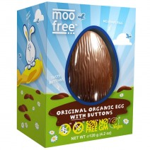 Moo Free Original Easter Egg With Buttons 120g