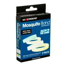 Mozzigear Mosquito Bands Adults Glow in the Dark 2 Bands