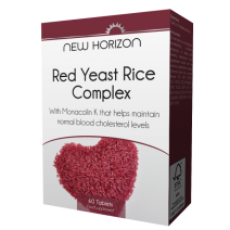 New Horizon Red Yeast Rice Complex 60 Tablets